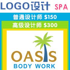 纽约logo设计,纽约SPA按摩LOGO设计